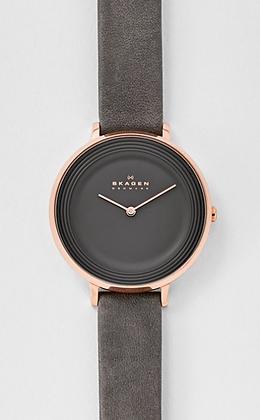 SKW2216 SKAGEN Ditte Leather Watch