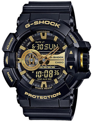 GA400GB-1A9 G SHOCK DUO BLK GLD