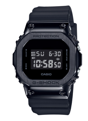 GM5600B-1DR G-Shock Matte Black Resin Mens