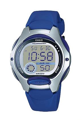LW-200-2AV Casio Youth - Blue and Silver Digital