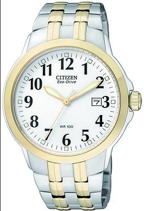 BM7094-50A - Citizen EcoDrive Gents watch two-tone