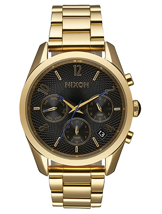 A949 510-00 NIXON Ladies Bullet Chrono 36 All Gold