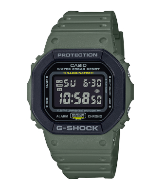 DW5610SU-3D G-Shock Green