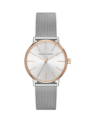 AX5537 A|X - Lola Two-Tone Rose Gold and Silver Mesh