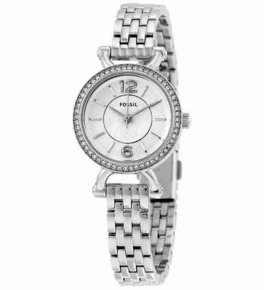 ES3893 FOSSIL Georgia Silver Dial Ladies Watch