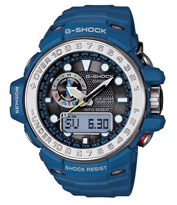 GWN-1000-2ADR G-Shock Blue GulfMaster Tough Solar