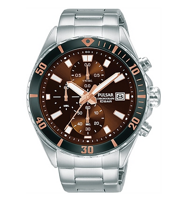 PM3195X PULSAR Sports Men's Chronograph