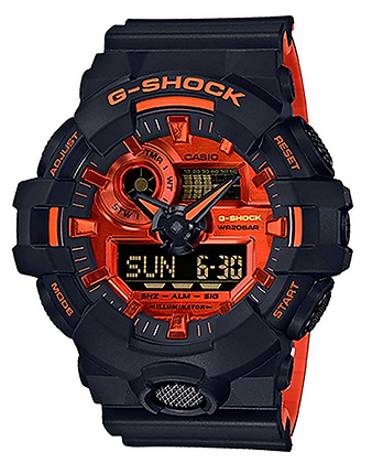 GA-700BR-1ADR G-SHOCK orange and black