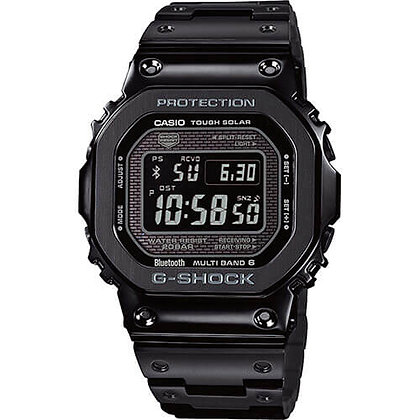 GMWB5000GD-1DR G-Shock 35th Anniversary - Black All Metal Negative Display