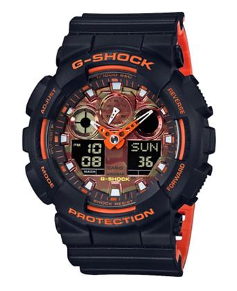 GA-100BR-1ADR G-SHOCK Orange