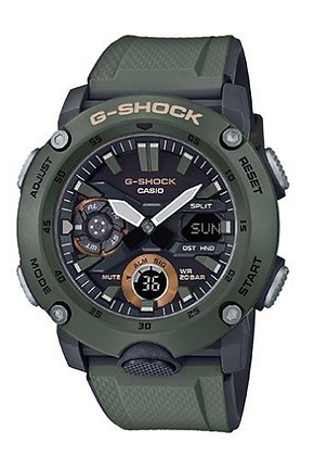 GA-2000-5ADR G-Shock - Carbon Core Guard Series - Camo Green