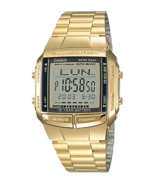 DB-360G-9A Casio Gold Data Bank | Youth