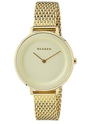SKW2333 SKAGEN Ditte Gold Mesh Watch