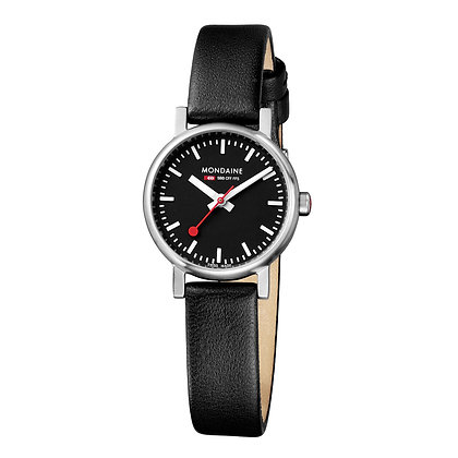 MONDAINE - Evo Petite Black/Black Leather