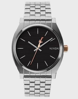 A045SW Nixon Phasma Silver Time Teller