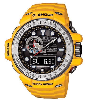 GWN-1000-9ADR G-Shock Yellow GulfMaster Tough Solar