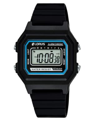 R2317NX-9 LORUS BLACK DIGITAL