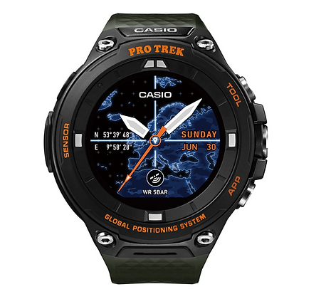 WSD-F20A-GN Casio Pro trek smart outdoor watch