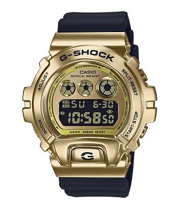 GM6900G-9D G-Shock Gold Metal Bezel 25th Anniversary
