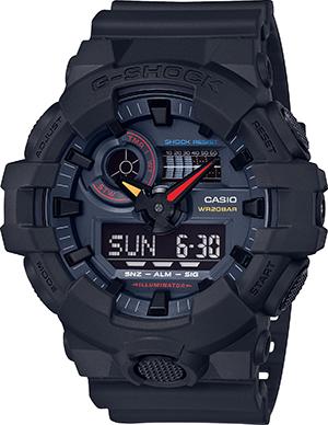 GA700BMC-1ADR - G-Shock Black x Neon - Neo Tokyo Akira Series - Extra Large Duo