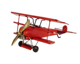 RED BARON PLANE COLLECTABLE