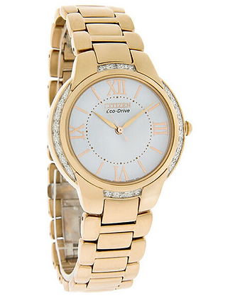 EM0093-59A Citizen Ladies RoseGold Eco-drive