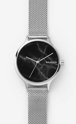 SKW2673 SKAGEN Anita Steel-Mesh Marble Watch
