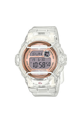 Baby-G - Transparent White/Rose Gold