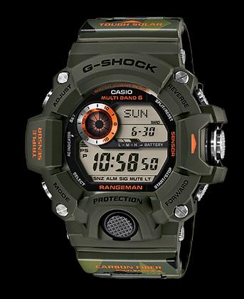 GW9400CMJ-3DR G-Shock Rangeman Camo green