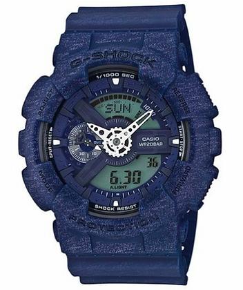 GA-110HT-2ADR G-SHOCK Blue Heathered Analog Digital Watch