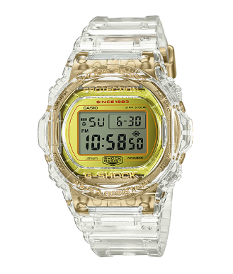 DW5735E-7DR G-Shock 35th Anniversary Glacier Gold