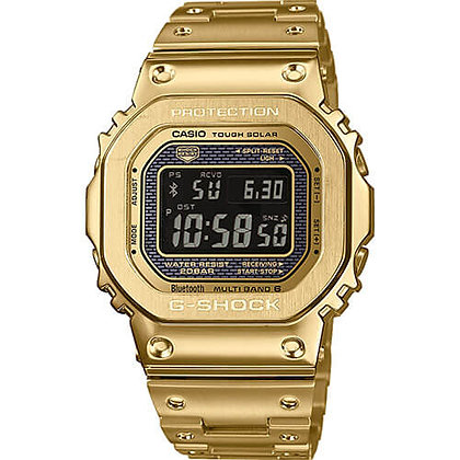 GMWB5000GD-9DR G-Shock 35th Anniversary - Gold All Metal Negative Display