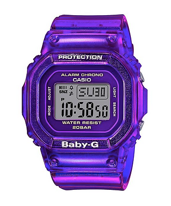 BGD560S-6D Baby-G Purple Semi-transparent