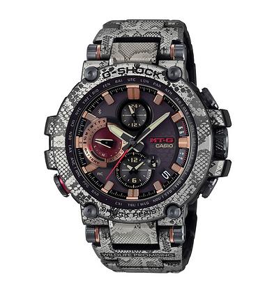 "MTG-B1000WLP1 G-Shock X Wildlife Promising MTG ""Rock Python"""