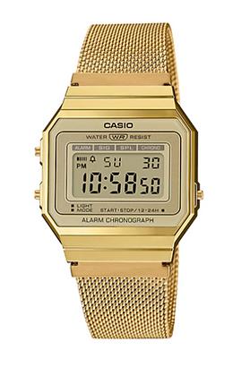 A700WMG-9A Casio Vintage Gold Mesh