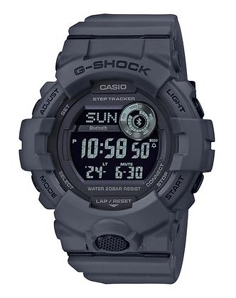 GBD-800UC-8DR G-Shock Grey Steptracker with Bluetooth All digital