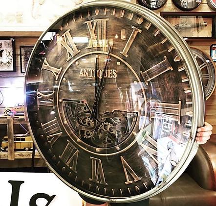 105cm antique style gear clock