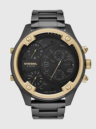 DZ7418 Diesel - Boltdown All Black/Gold 3-Timezone Chrono