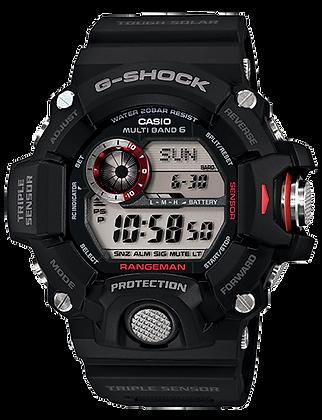 GW9400-1DR G-Shock All Black Triple Sensor Rangeman