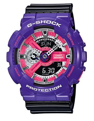 GA-110NC-6ADR G-Shock - Purple and Black Duo