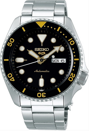 SRPD57K1 Seiko Automatic Black Dial watch