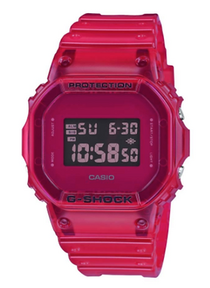 DW-5600SB-4DR G-Shock Red Skeleton Series