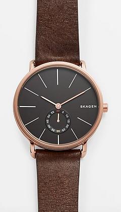 SKW6213 SKAGEN Hagen Leather Watch