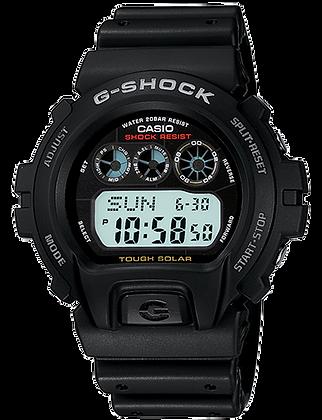 G-6900-1DR - G-SHOCK Black Tough Solar Retro Digital