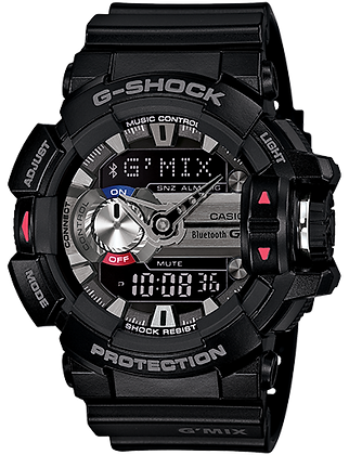 GBA400-1ADR G-SHOCK  G'Mix Black and Silver