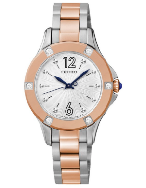 SRZ422P1 - Seiko Ladies Swarovski Rose gold