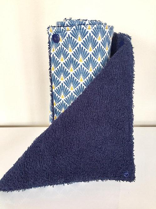 Essuie-tout lavable - Bleu