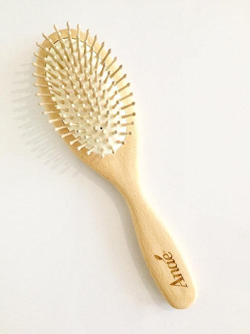 Brosse à cheveux en bois de hêtre