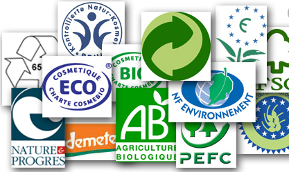 Les logos écologiques