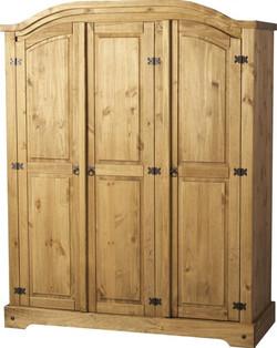 Corona 3 Door Wardrobe